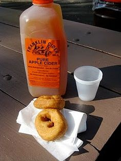 Cider and donuts from the best Cider Mill in Michigan! All my Michigander friends and family, you need to send me a dose of this once they open! Fall In Michigan, State Of Michigan, Detroit Michigan, The Mitten State, Motown, Great Lakes, Apple Cider, Food And Drink, Autumn