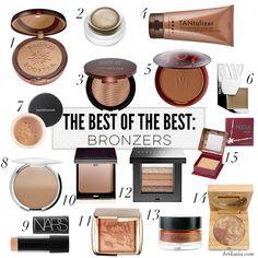 The Best of the Best: 15 Best Bronzers
