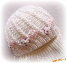 HÁČKOVÁNÍ - Jednoduchá teplejší čepka Knitted Hats, Crochet Hats, Free Pattern, Beanie, Knitting, Youtube, Fashion, Caps Hats, Tejidos