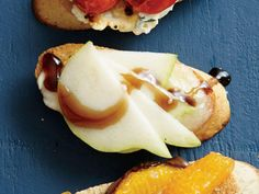 Pear, Brie, and Balsamic Bruschetta | Brie makes for an amazing addition to any appetizer table and also works wonderfully on all kinds of entrees, from sandwiches to pizza. Take a look at some of our favorite ways to use this mild and creamy cheese.