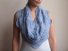 Infinity scarf PDF Crochet Pattern circle scarf by Accessorise, $5.00