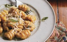 Butternut Squash Gnocchi with Sage Brown Butter - Bon Appétit - Made 11/13 - #verygood