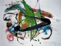 "Miguel Robledo Cimbrón: ""Art Gest. 910 "" (2016) Painting, Canvases, Artists, Art, Painting Art, Paintings, Painted Canvas"