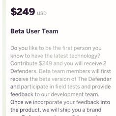 Join our beta team and help us finalize testing of The Defender http://igg.me/p/the-defender-smart-personal-protection/x/6047402
