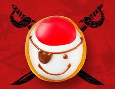 Talk Like a Pirate to Get a Free Donut from Krispy Kreme on September 19, 2015