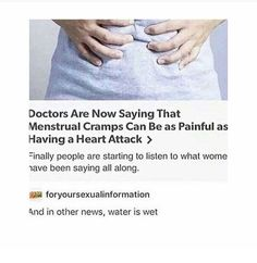 I'm curious if this is true, also women experience a different range of pain, some have it worse than others... but it is an interesting theory
