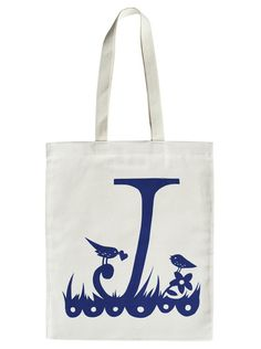 Rob Ryan For Alphabet Bags J By Misterrob On Etsy