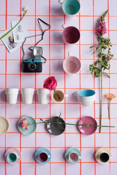 Present Time cups I styling by Inès Beeftink