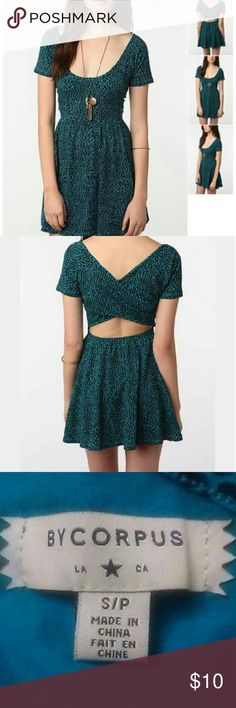 BYCORPUS Crisscross Dress BYCORPUS CRISSCROSS DRESS SIZE SMALL,95%cotton 5%elastane,only worn twice like new no tares or stains BYCORPUS Dresses Mini