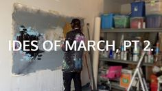 Learn How to Paint an Abstract Painting with Acrylics video - Ides of March, Pt 2 by Ty Clark - YouTube