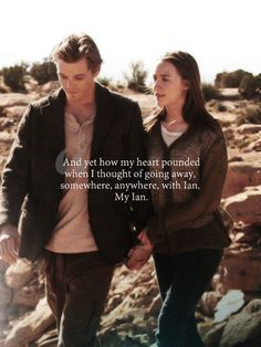 Photo of Ian & Wanda for fans of The Host 34751523 Series Movies, Movies And Tv Shows, Movie Quotes, Book Quotes, I Love Books, Good Books, The Host Book, Les Ames Vagabondes, Jake Abel