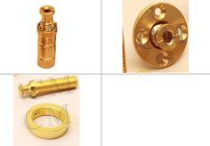 Brass Turned Components #BrassTurnedComponents Copper, Brass, Wood Screws, Door Handles, Door Knobs, Door Pulls