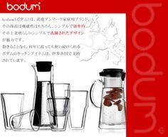 【楽天市場】Bodum ボダム ビストロ アイスティー ジャグ 0.5L H-8567:よろづや百貨