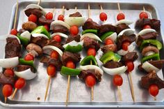 Oven Steak Kabobs – A special meal on a budget ~ http://www.southernplate.com