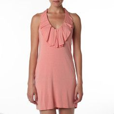Cascade Neck Tank Dress Lychee, $36, now featured on Fab.