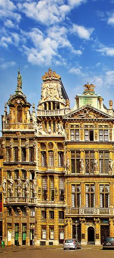 The main square of Brussels, Belgium, UNESCO World Heritage Site | Amazing Photography Of Cities and Famous Landmarks From Around The World