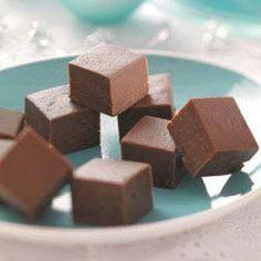 Bavarian Mint Fudge Recipe from Taste of Home