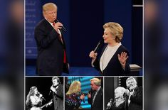 """""""Donald Trump & Hillary Clinton: Duets."""" That's what I kept pondering during Sunday's debate, as the two kept circling and wandering the stage, microphones in hand."""