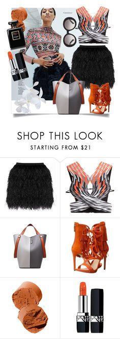 """""""omg"""" by metka-belina ❤ liked on Polyvore featuring Dunn, Raoul, Alexander Wang, GUESS, Bobbi Brown Cosmetics, Christian Dior and Prada"""