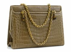 Gucci-Crocodile-Shoulder-Bag