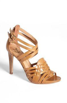 VC Signature 'Barbaraa' Woven Leather Sandal