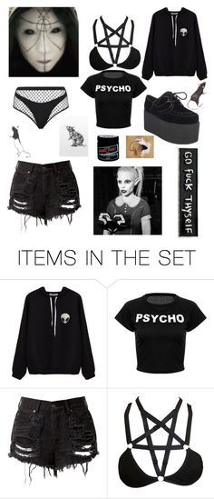 """""""In the end, the rats shall rule {Rats Rule, by Die Antwoord}"""" by tumblr-pastel ❤ liked on Polyvore featuring art"""