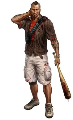 Logan-my inspiration of the single strap backpack...he's perhaps the best character and least sober...