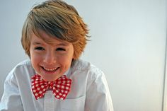 another great tutorial for making a tie for my little dude.