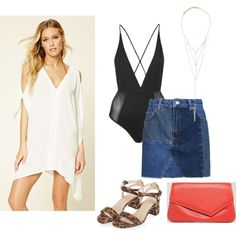 How-To Style: Beach Cover-Up For Night Out