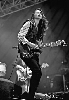 Haim  - THIS girl <3 Stunning, talented and just pretty damn awesome