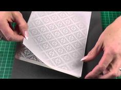 Introduction into Parchment Craft - Embossing Part II - YouTube