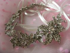 Carefully handmade and designed by weddingvalle.    This stunning headband for a wedding or special occasion, it's really a luxury piece which you