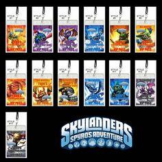 Skylanders Invitations, Birthday invitations, Skylanders Party Favors
