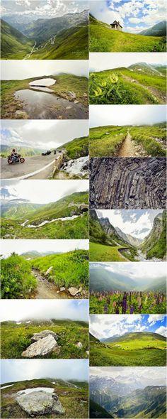 Summer in the Swiss Alps - Switzerland, travel photography, Alps, Uri, mountains in the summer!!! Gotthard, Furka Pass