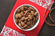 Cocoa Dusted Almonds Could use cinnamon instead?