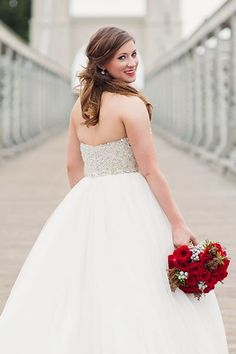 The Prettiest Half-Up, Half-Down Hairstyles Summer Wedding Hairstyles, Bride Hairstyles, Down Hairstyles, Wedding Hair Down, Wedding Updo, Wedding Makeup, Medium Hair Styles, Short Hair Styles, Bridal Looks