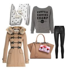 """""""Untitled #246"""" by pumpkin-hart ❤ liked on Polyvore featuring Keds, Helmut Lang, Fendi and Burberry"""