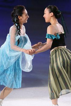 真央&舞、浅田姉妹がアイスショーで共演=フィギュアスケート(スポーツナビ) - Y!ニュース