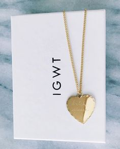 In God We Trust's Sweet Nothings Collection - Bitch, Please necklace