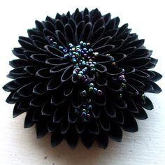 kanzashi paper flower