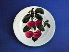 Small Wemyss Ware 'Cherries' Plate c1910