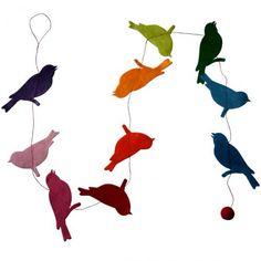 Décoration et Accessoires + Lamali - Guirlande décorative en papier Lokta fabriquée au Népal - Motif Oiseaux - Multicolore: Amazon.fr: Cuisine & Maison