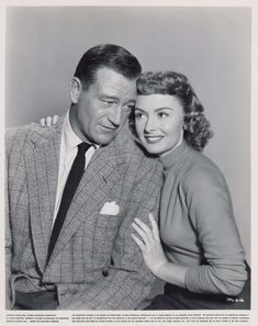1953 John Wayne | Donna Reed - Trouble Along The Way - 1953
