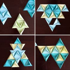 Triangle-11-Configurations - i would make this as a collage on my wall, super nice