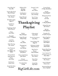 Thanksgiving Playlist: retro-eclectic mix of jazz, acoustic and latin guitar, and golden standards perfect for your gathering. The mood is upbeat, but won't disrupt the conversation flow, and runs just over three hours.