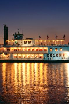 #TheFlashList | Colonel Paddlewheel Boat Dinner Cruise at @Moody Gardens | Galveston, TX | Beautiful views, dinner buffet, dancing, and cash bar. Details at: http://www.theflashlist.com/galveston/events/2014/03/dining/usa-texas-galveston-moody-gardens-colonel-paddlewheel-boat-dinner-cruise.html