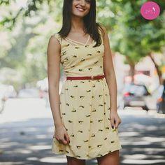 Esse vestido é uma fofura sem fim.. #Vemprazas