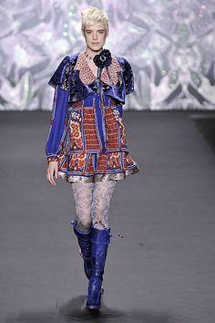 Anna Sui Fall 2008 Ready-to-Wear Fashion Show - Agyness Deyn