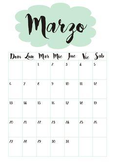 Calendario 3 Marzo ☼