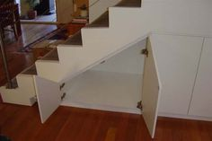 Just doors to the under-space - under stairs ideas - Google Search